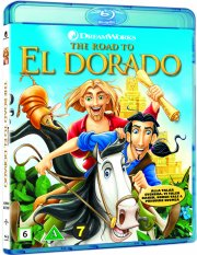 vejen til eldorado / the road to el dorado - Blu-Ray