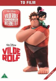 vilde rolf 1-2 // wreck-it ralph 1-2 - disney - DVD
