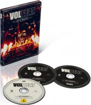 volbeat - let's boogie - live telia parken  - Dvd+Cd