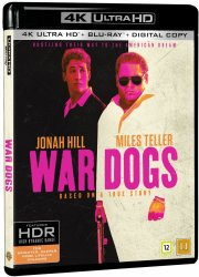 war dogs - 4k Ultra HD Blu-Ray