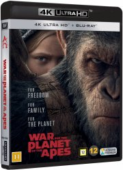 war for the planet of the apes / abernes planet: opgøret - 4k Ultra HD Blu-Ray