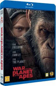 war for the planet of the apes / abernes planet: opgøret - 3D Blu-Ray