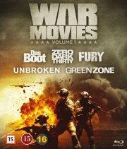 fury // das boot // zero dark thirty // unbroken // green zone - Blu-Ray
