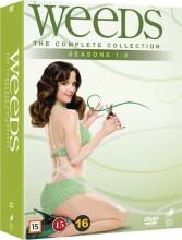 weeds - den komplette serie - sæson 1-8 - DVD