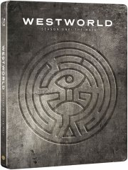 westworld - sæson 1 - steelbook - hbo - Blu-Ray