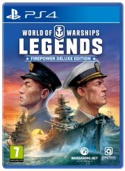 world of warships: legends - firepower deluxe edition - PS4