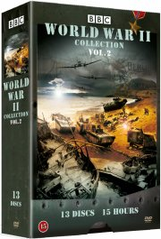 world war ii collection - del 2 - bbc - DVD
