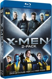 x-men - first class + days of future past - Blu-Ray