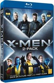 x-men - first class + days of future past - Blu-Ray