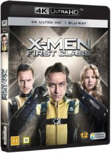x-men - first class - 4k Ultra HD Blu-Ray