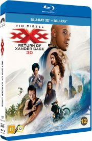 xxx - the return of xander cage  - 3D + 2D Blu-Ray
