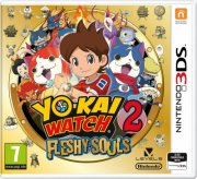 yo-kai watch 2: fleshy souls - nintendo 3ds