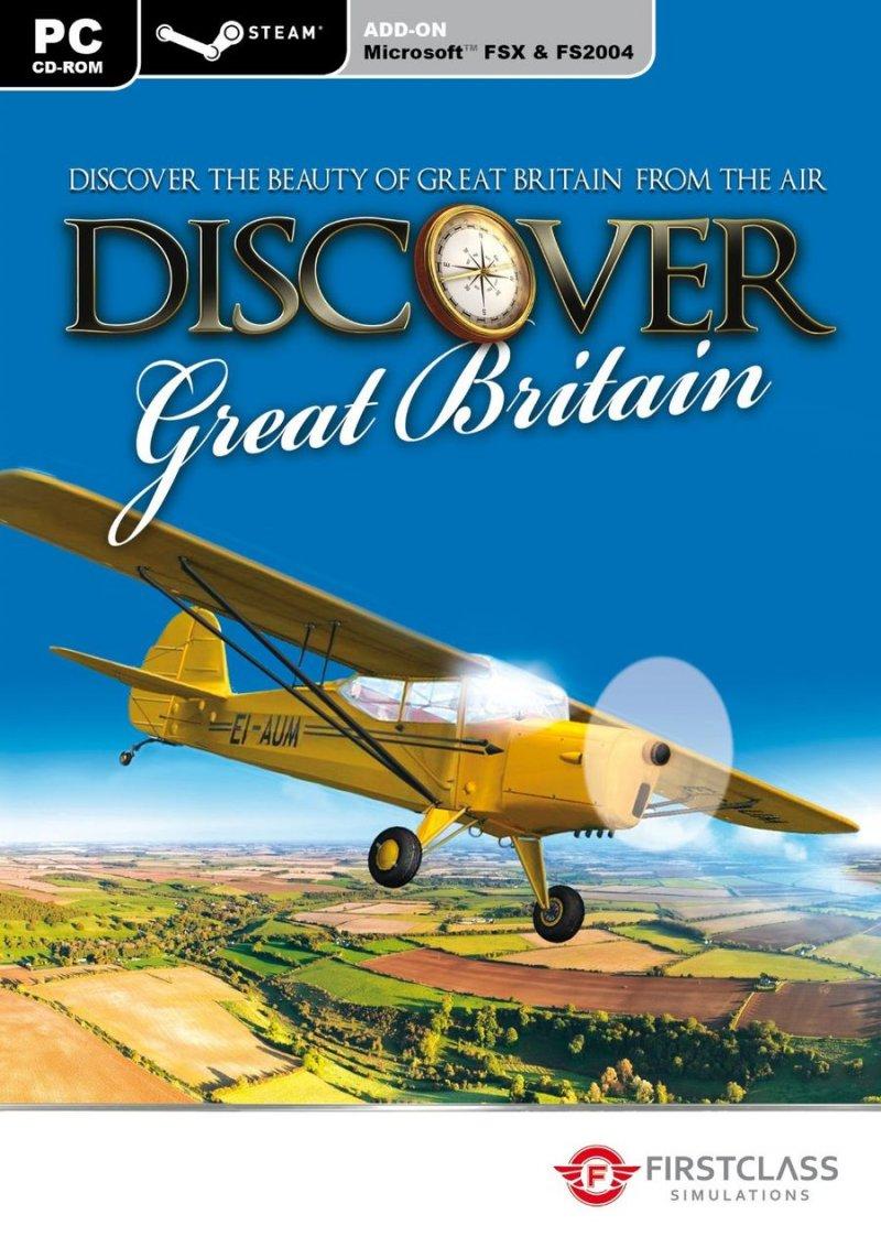 Flight Simulator X - Discover Great Britain   pc Spil   Dvdoo.dk