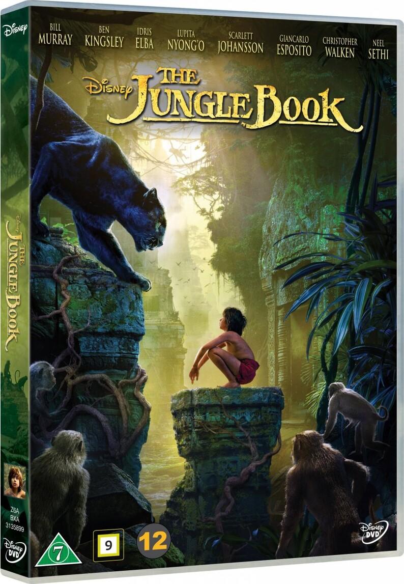 Junglebogen Spillefilm 2016 - Disney | DVD Film | Dvdoo.dk