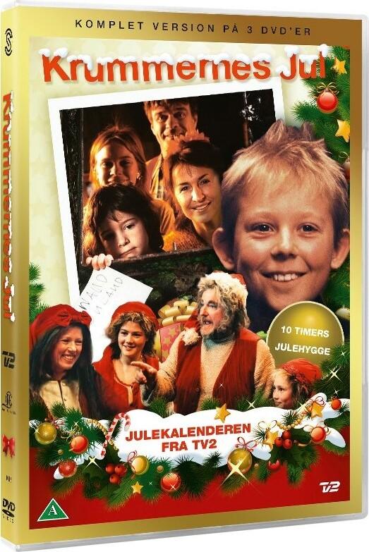 Krummernes Jul - Tv2 Julekalender | DVD TV Serie | Dvdoo.dk