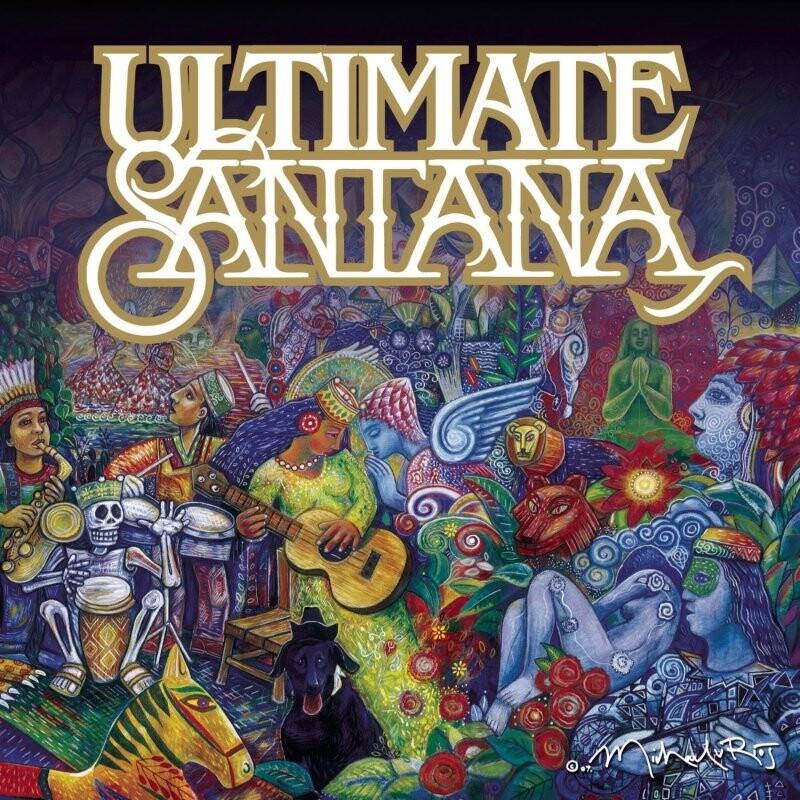 Santana Ultimate Santana Cd Dvdoo Dk