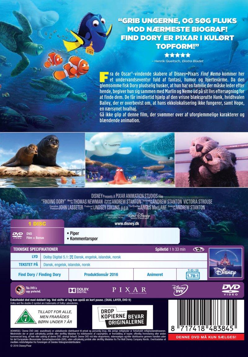 find dory dvd tilbud