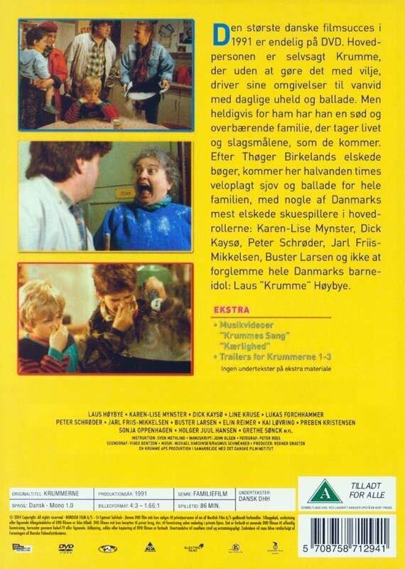 Krummerne | DVD Film | Dvdoo.dk