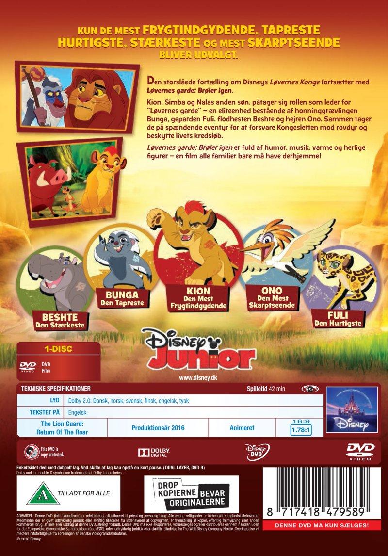 The Lion Guard - Return Of The Roar | DVD Film | Dvdoo.dk